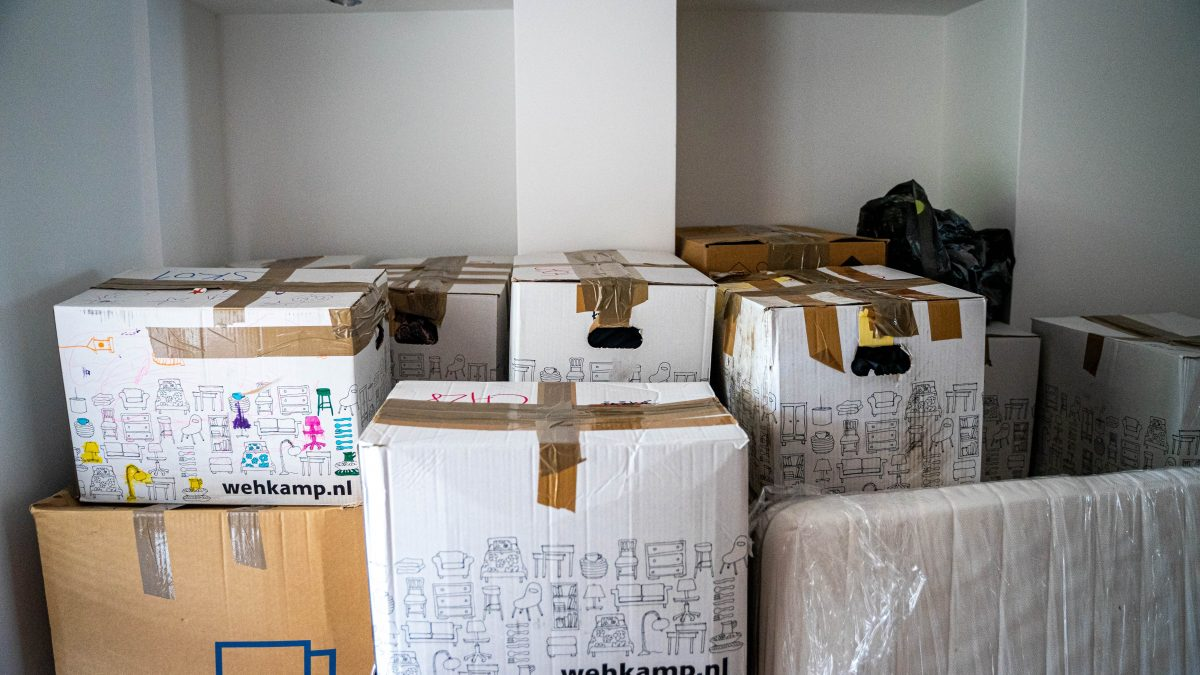 packaging in boxes