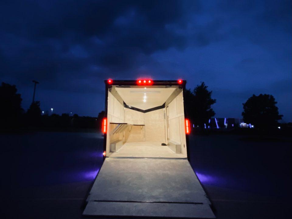 step deck trailer